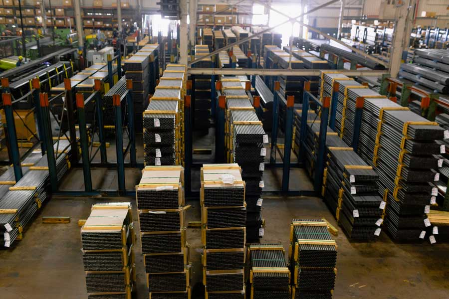 Steel Tube Consignment Warehousing